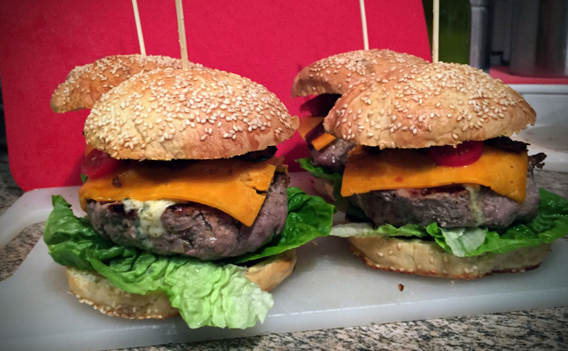Rezept: Rather Special Beef Burger BBQ Style